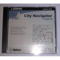 Garmin Mapsource DVD City Navigator Europe Update V8